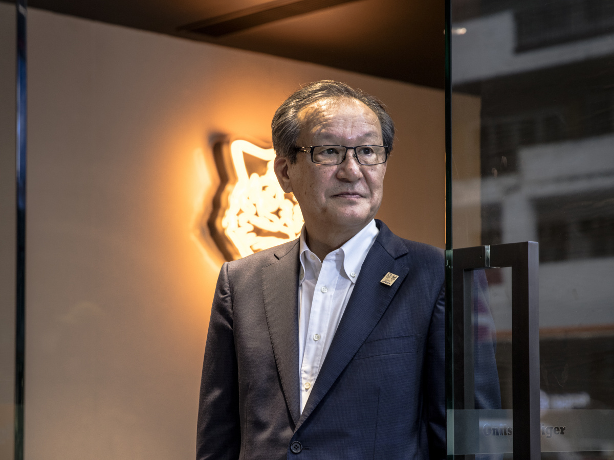 巨大市場への近道は香港にあり! 「オニツカタイガー」再生の立役者、尾山基会長CEOにその道のりを聞きました。