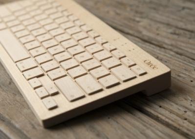 ユニークな手彫りの木製キーボード、「Orée board」の期間限定ショップがオープンします!
