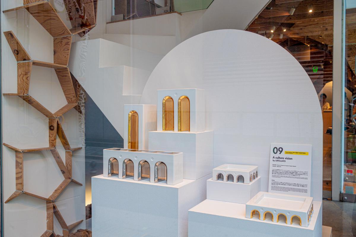 心斎橋エリアが最先端のデザインに染まる、 「OSAKA×MILANO DESIGN LINK 2019」が開催中。