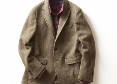 ウディ・アレンが映画『アニー・ホール』で着こなした、トラッドな愛用品、ツイードジャケット
