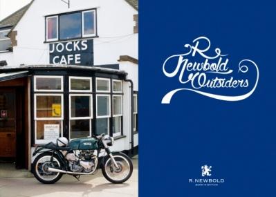 R.NEWBOLDが、モーターサイクルシーンから影響を受けた期間限定カフェをオープン