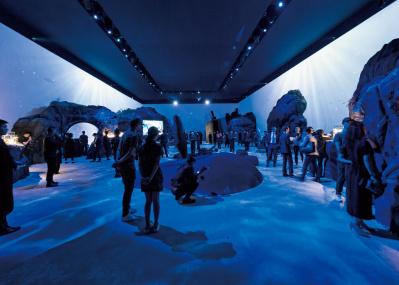 パネライ「サブマーシブル」のイベントで、スリルあふれる深海の世界を体感。