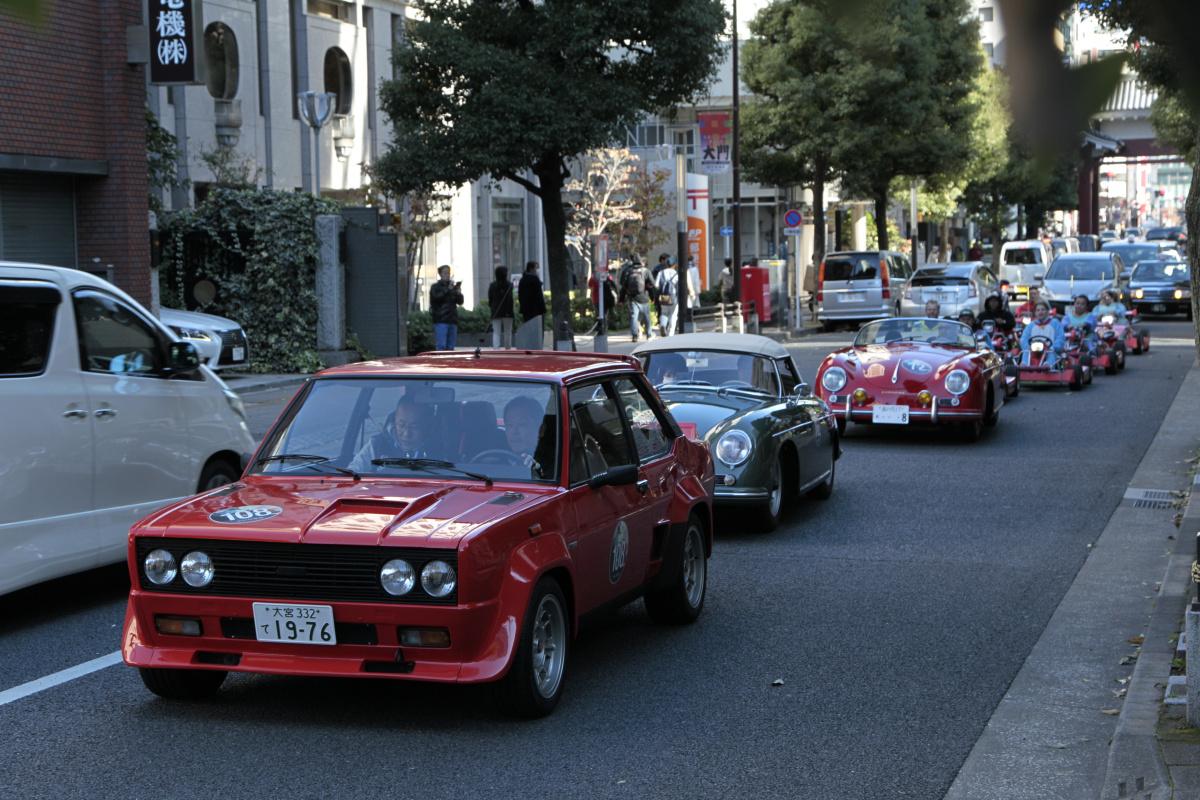 真のヴィンテージカー好きだけが集まるラリー、「コッパディ東京2018」に参加した名車たち。