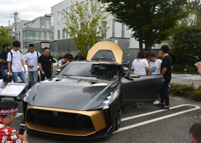 価格は約1億円! 代官山 T-SITEのモーニングクルーズで、噂の「GT-R50」が日本で初めてお披露目。