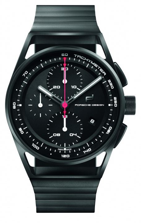 グリーンの秒針がシンボリックな、「ポルシェ911」100万台記念限定モデル