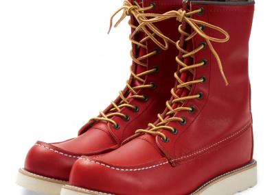2018年限定復刻「レッド・ウィング」のブーツには、革の色へのこだわりが詰まってます。