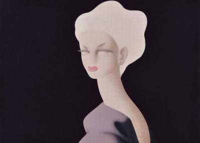 知られざる作品に出合える『生誕120年 東郷青児展』、メランコリックな美人像が見どころです。