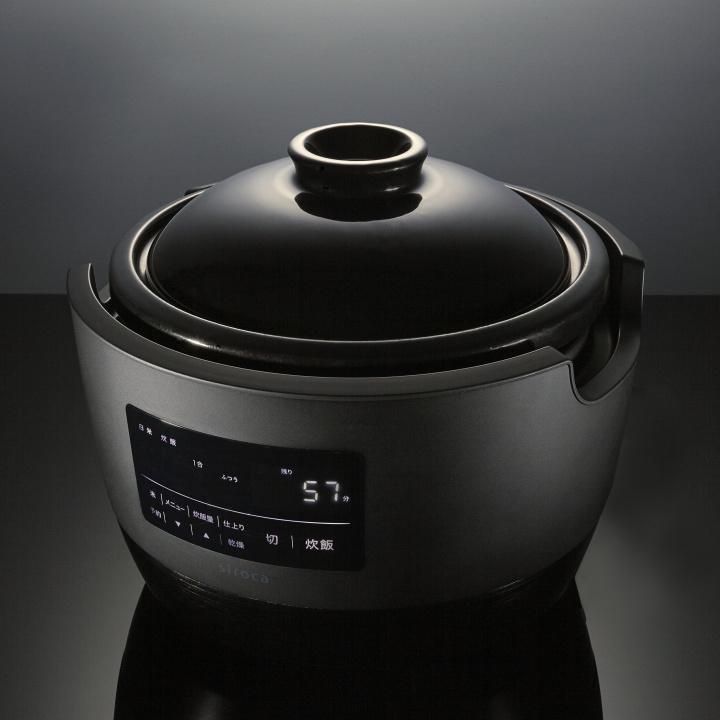 土鍋をまるごと 家電化した、驚きの炊飯器。