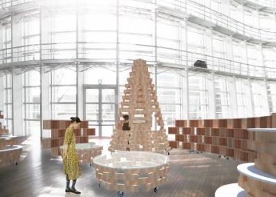 国立新美術館1階に、新たなショップ「スーベニア フロム トーキョー」が登場。