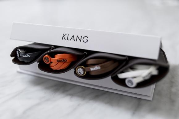 スウェーデンが生んだ、シンプルでエレガントなイヤフォンSudio「KLANG」