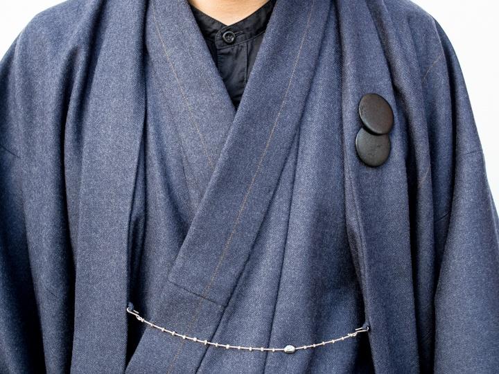 着物の世界をモダンにした話題のショップが仕掛ける、ウールスーツ生地の着物、「T-KIMONO」