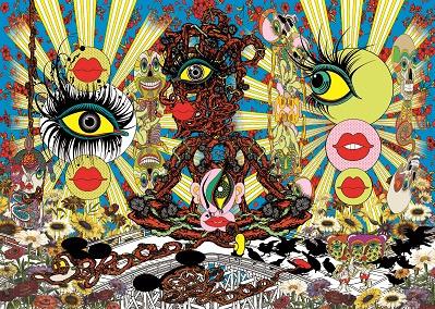 鬼才・田名網敬一をひも解く個展がスタート、 湧き続ける表現の泉にどっぷりと浸りましょう。