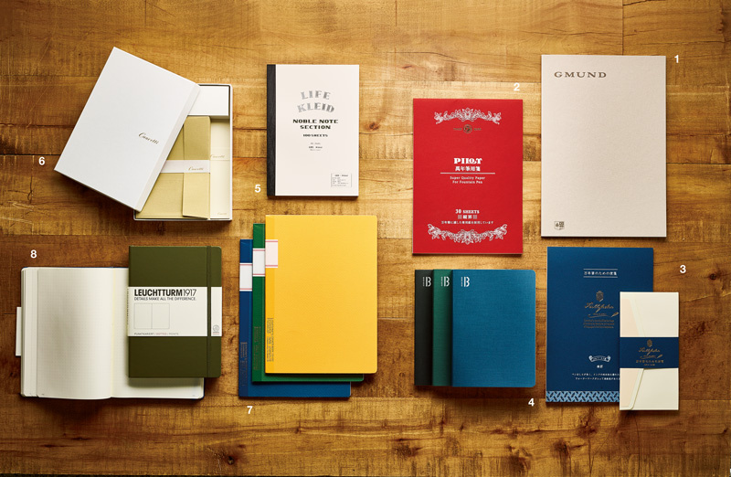 """""""書く愉しみ""""が倍増する、書き味&質感の優れたノート&レターセットガイド"""