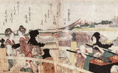 行楽や旅に最適な季節。『てくてく東海道』で北斎と江戸の旅を満喫しよう!