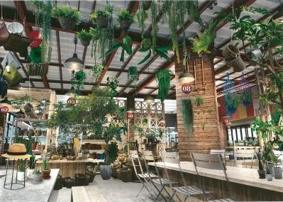 心地よい緑が待っている!「the Farm UNIVERSAL」で植物のある暮らしを楽しもう。