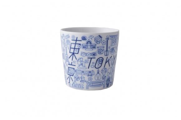 """雑多でカオスな""""東京""""が1枚のプレートに、  「TOKYO ICON」を新しい東京土産に。"""