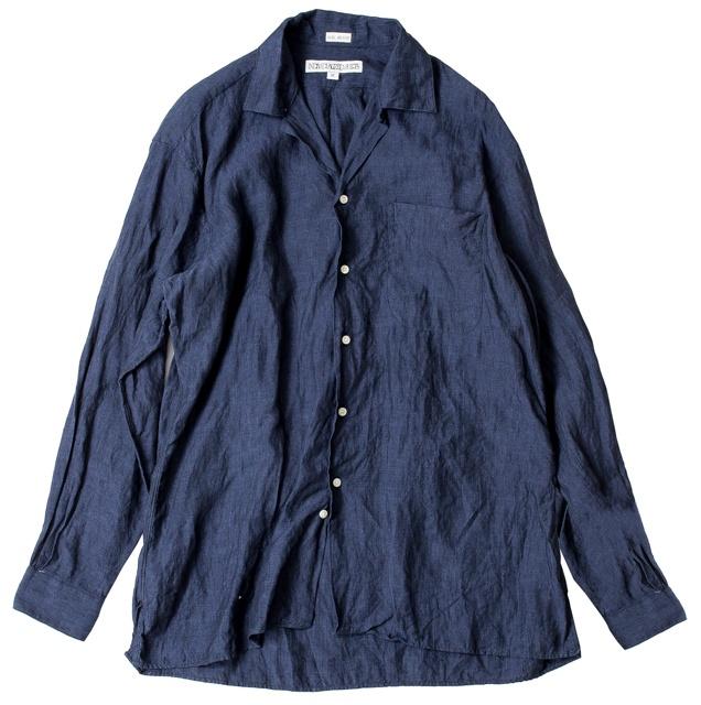 ゆったり感が最高なオープンカラーシャツは、アメリカ老舗シャツ+デザイナーズ+セレクトショップのトリプルコラボ!