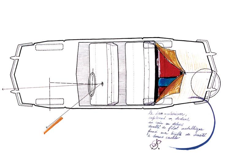 天才建築家ジオ・ポンティが描いた、65年前の幻のクルマ。