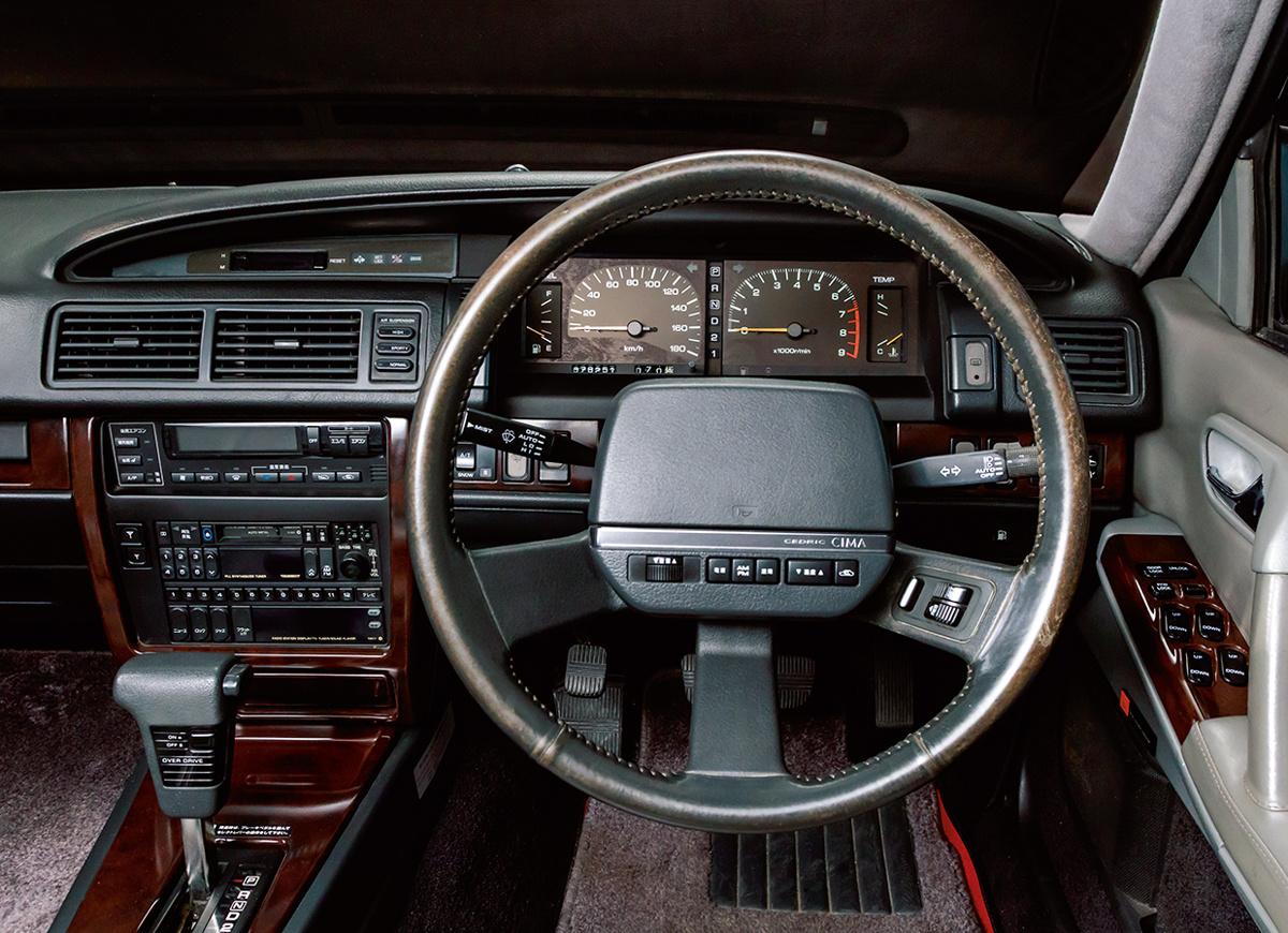 日産自動車、伝説の名車を振り返る。【CIMA編】