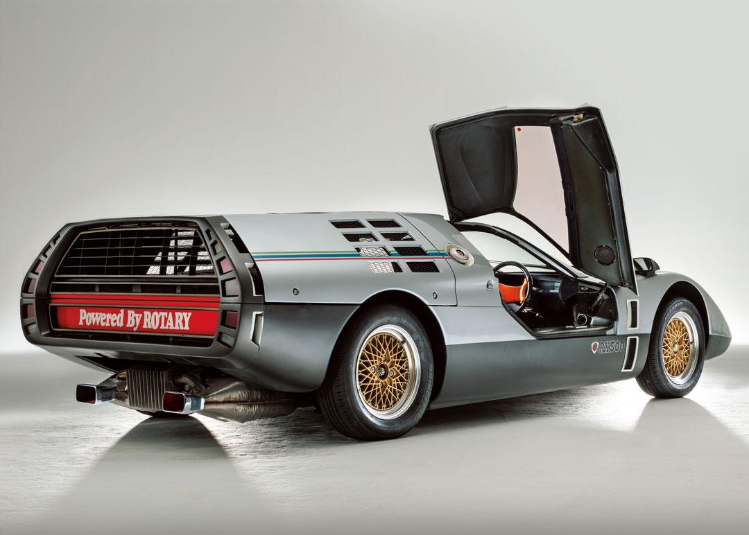 未来を夢見て生まれた、3台のスーパーカー【マツダRX500編】