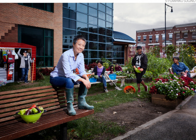みんなをもっと健康に! 新鮮野菜で街を変えていく、小さな農園のチャレンジ