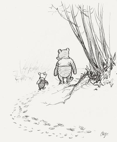プーさんの愛らしい原画が日本へ! この『クマのプーさん展』は、大人こそ夢中になれます。
