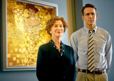 クリムトの名画を取り戻すためにすべてを賭けた、老女と若手弁護士の熱き物語『黄金のアデーレ 名画の帰還』