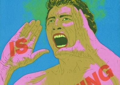 あらゆる境界を超えていけ! 『横尾忠則 HANGA JUNGLE展』で、走り続ける創作の雄叫びを聴く。