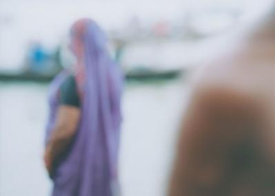 写真家、上田義彦さんの最新個展、「M.Ganges」展が開かれています。