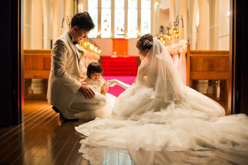 結婚式 フラワーガール