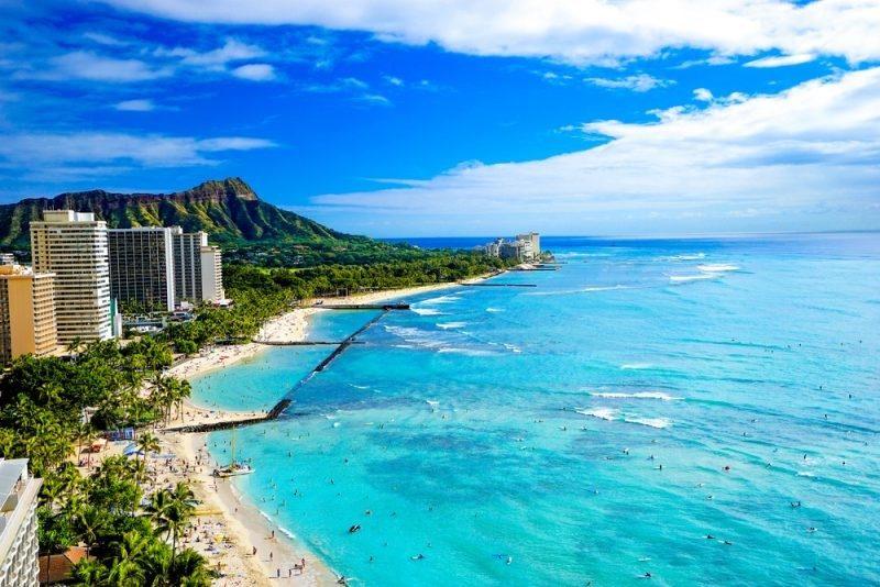 ハワイ 新婚