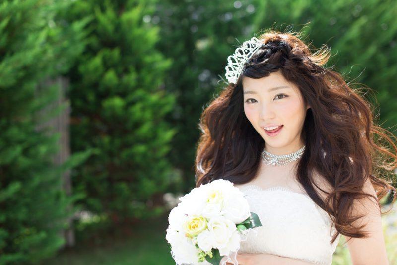 編み込み 花嫁
