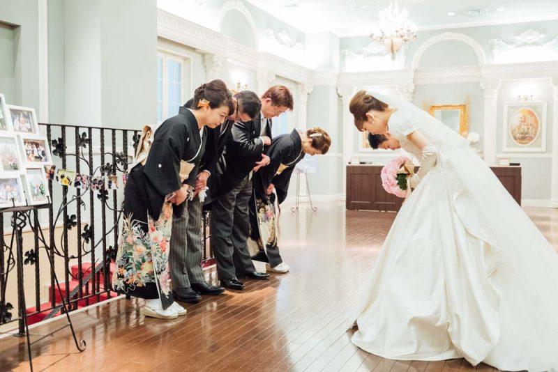 結婚式挨拶