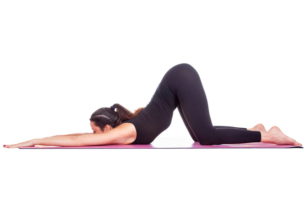 Cat back stretch yoga 1024x687