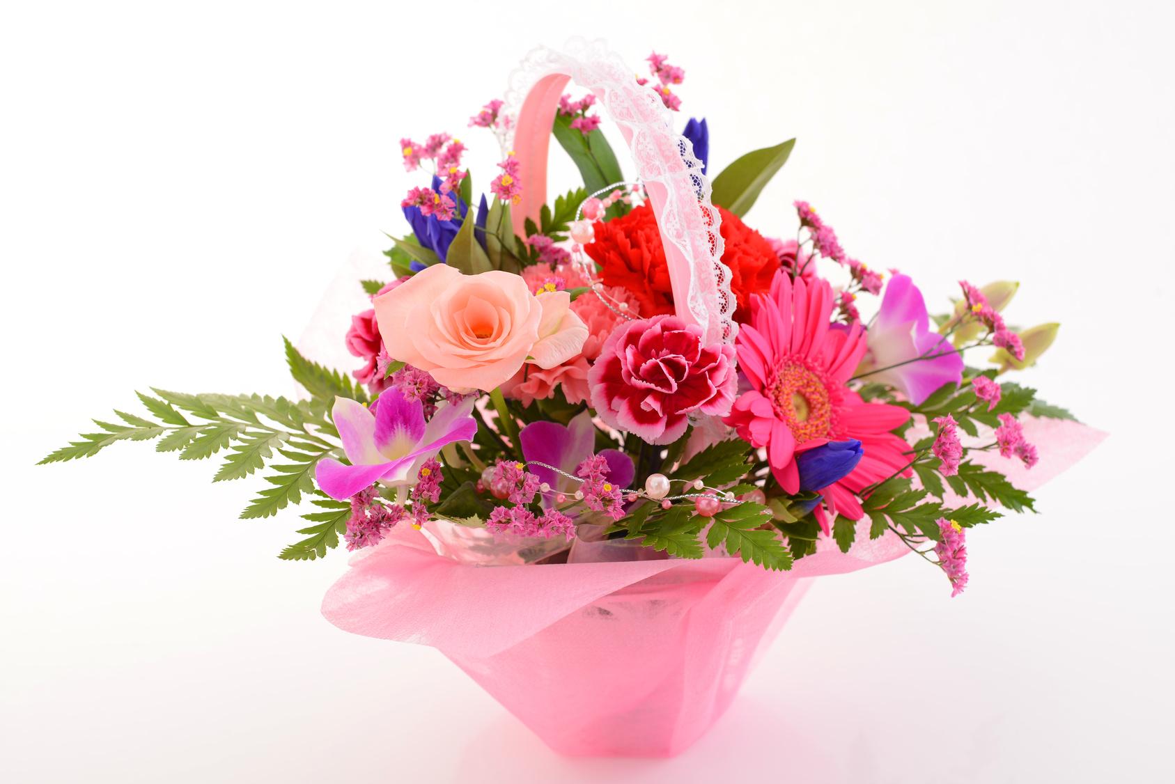 美しい花籠