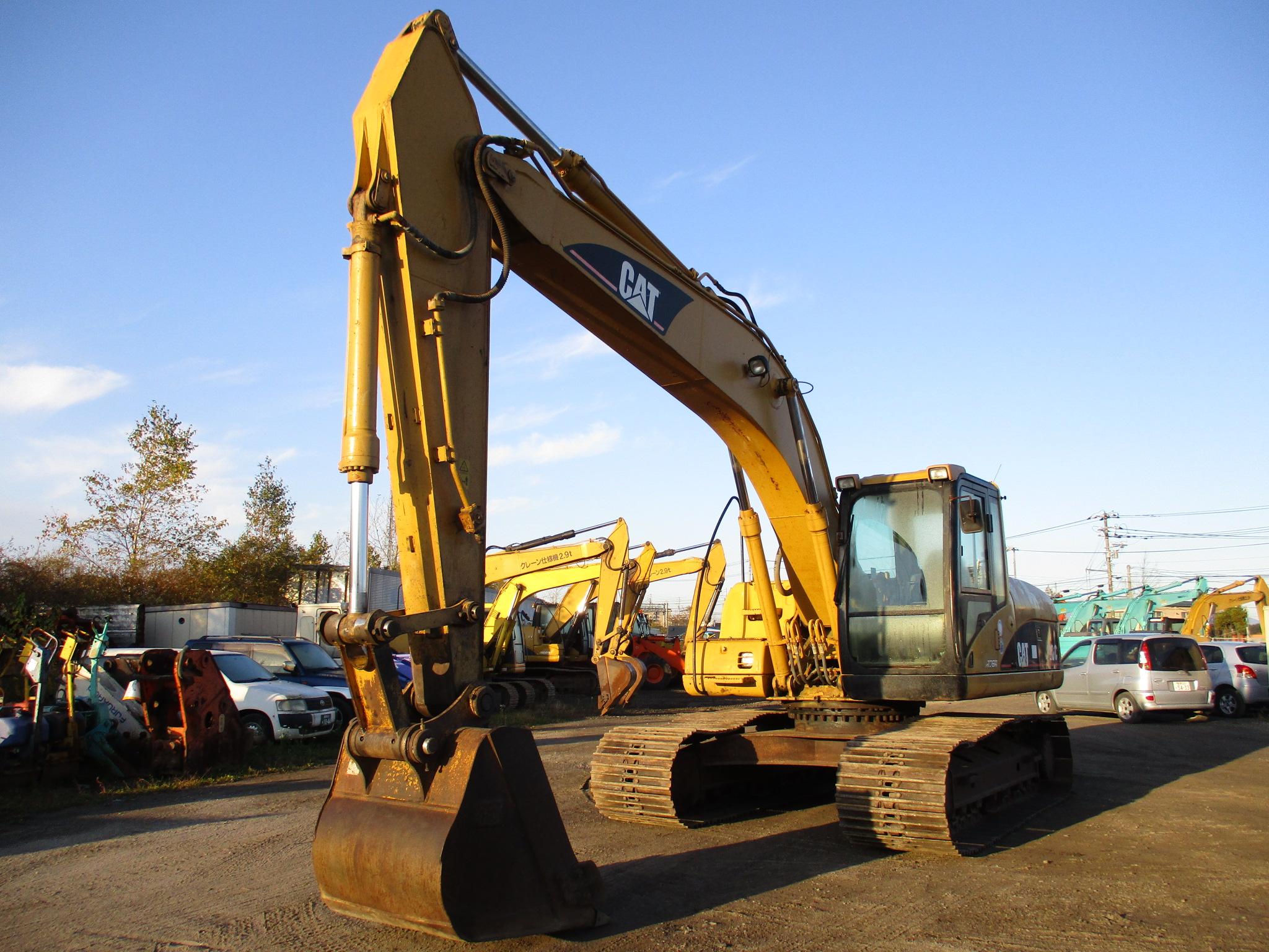 Excavators キャタピラー 320C