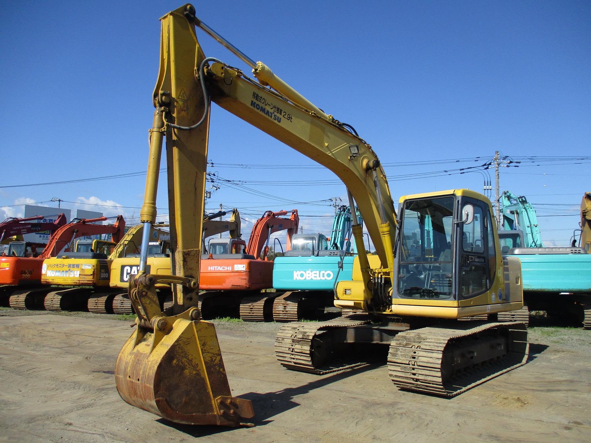 Excavators コマツ PC120-6EO