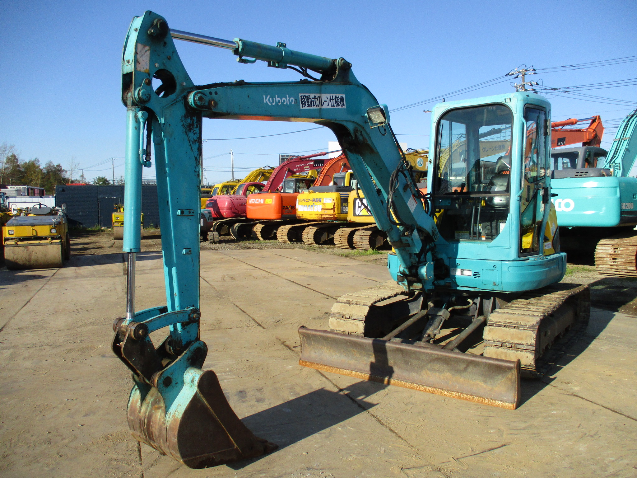 MIni excavators KUBOTA U40-3S