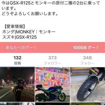 kageさんが投稿した愛車情報(GSX-R125)