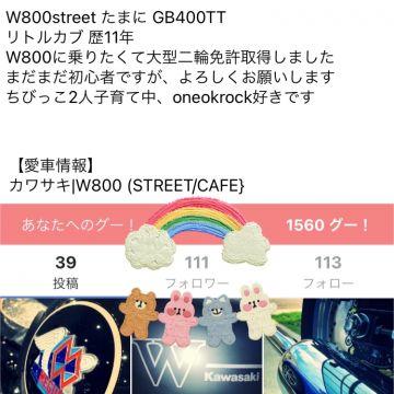 AYAさんが投稿した愛車情報(W800 (STREET/CAFE})