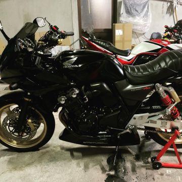 CB Riderさんが投稿した愛車情報(CB400 SUPER BOL D'OR)
