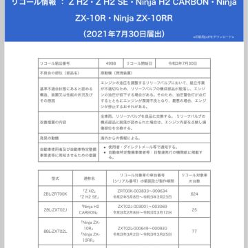TOCさんが投稿した愛車情報(Ninja ZX-10R)