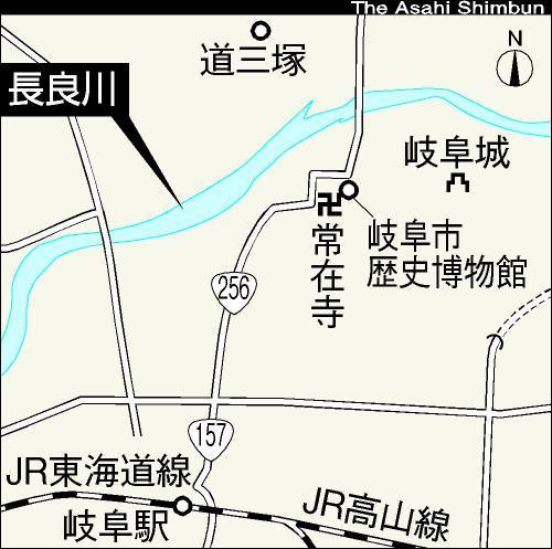 長良川周辺の地図