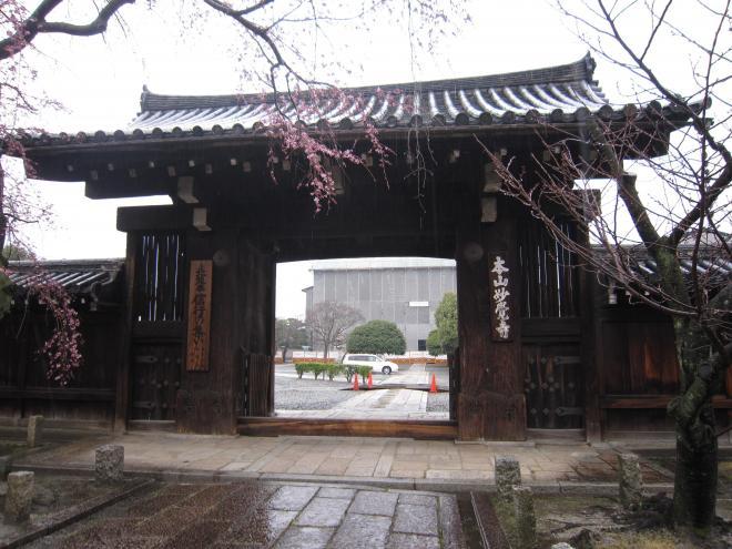 妙覚寺の山門