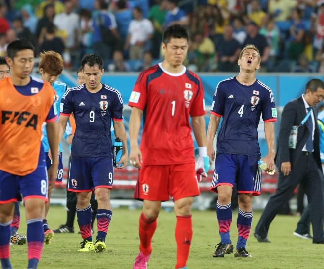 苦戦が続く日本代表だが、まだ終わっていない=上田潤撮影