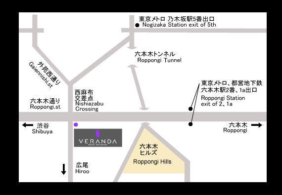 ここ。東京都港区西麻布3-24-20 2F