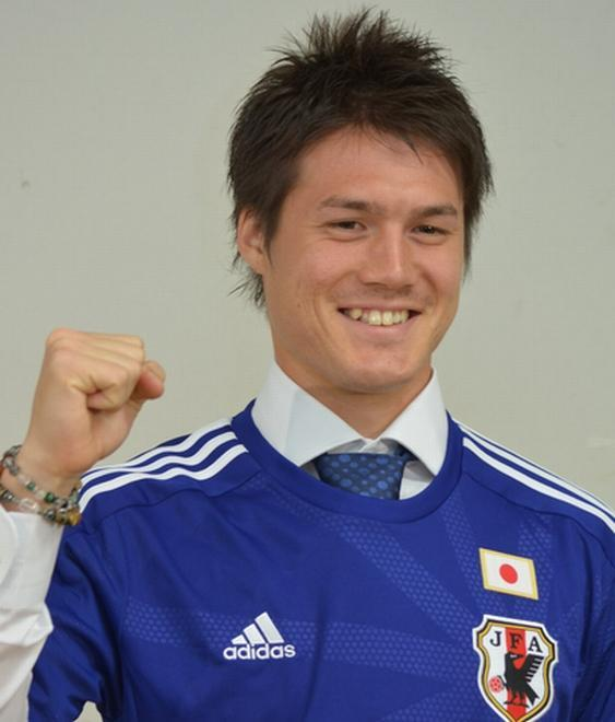 日本代表に選ばれた酒井高徳。対戦したい国は「ドイツ」と話した
