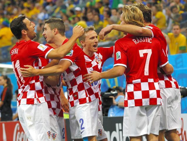 クロアチアのユニホーム
