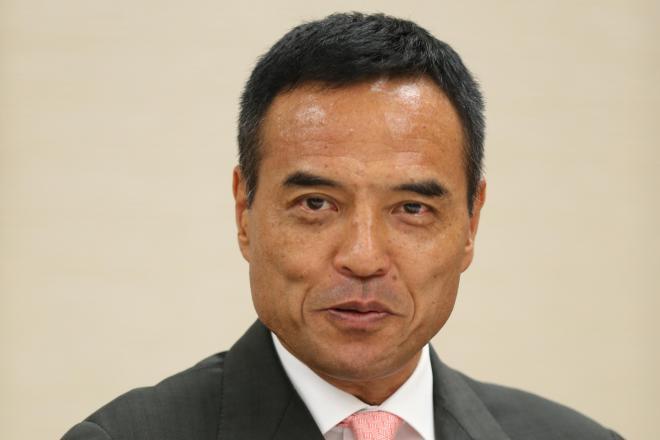 ローソンの新浪剛史会長(55)