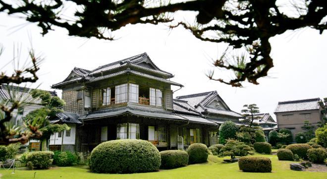 白蓮が過ごした旧伊藤伝右衛門邸=福岡県飯塚市